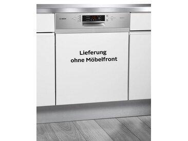 BOSCH teilintegrierbarer Geschirrspülmaschine, SMI46MS01E, 6,5 l, 13 Maßgedecke, Energieeffizienz: A++, silber
