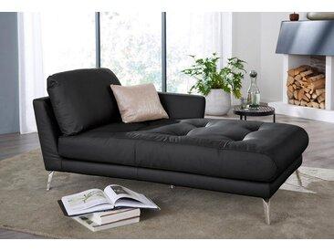 Chaiselongue »softy«, schwarz, Armlehne rechts, 106cm, W.SCHILLIG