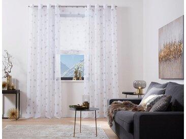 my home Vorhang , weiß, H/B: 225/140cm, »Stern«
