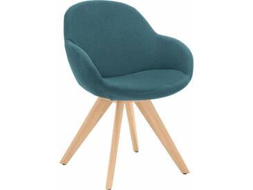 NIEHOFF SITZMÖBEL Schalen-Sessel , blau, ohne Drehfunktion, »Coppa«