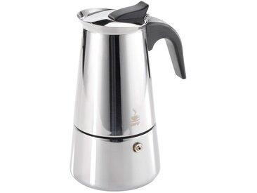 GEFU Espressokocher Emilio, silber, Tassenanzahl: 4, Spülmaschinengeeignet, , , spülmaschinengeeignet