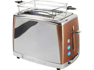 RUSSELL HOBBS Toaster »Russell Hobbs Luna Copper Accents 24290-56« braun
