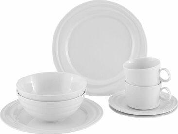 Frühstücks-Set , weiß, spülmaschinenfest, »GOURMET Linie«, , , spülmaschinenfest, Alexander Herrmann
