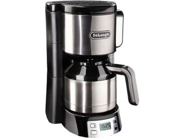 Filterkaffeemaschine ICM15750, silber, DeLonghi