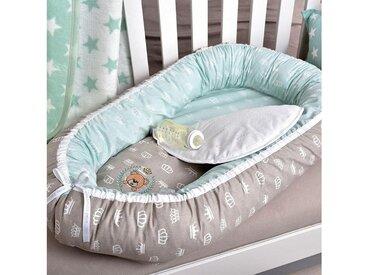 Babynest , silber, »Füllung: Faserbällchen«, SEI Design