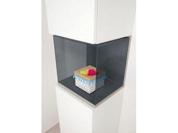 Aufbewahrungs-Box, grau, 34,9x28,1x32,4cm, now! by hülsta