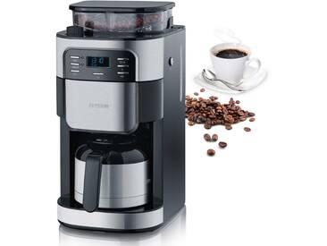 Kaffeemaschine mit Mahlwerk KA 4812, silber, Severin