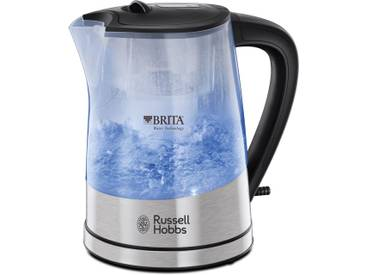 RUSSELL HOBBS Wasserkocher, WK 22850-70, 1,5 Liter, 2200 Watt, blau