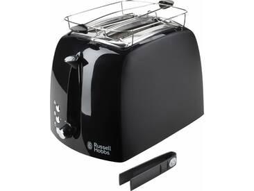 RUSSELL HOBBS Toaster , schwarz, »Textures Plus 22601-56«