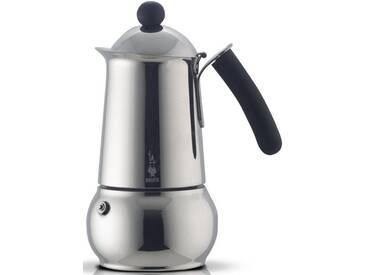 BIALETTI Espressomaschine Class, silber, Für 10 Tassen, induktionsfähig