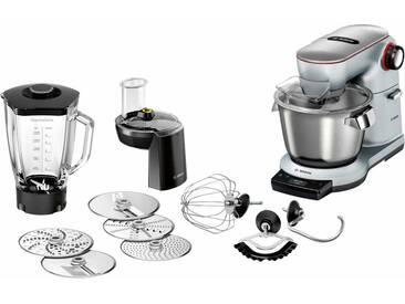 BOSCH Küchenmaschine OptiMUM MUM9DT5S41, 1500 Watt, Schüssel 5,5 Liter silber
