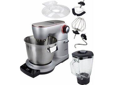 BOSCH Küchenmaschine OptiMUM MUM9DT5S41, 1500 W, 5,5 l Schüssel, extrastarker 1500-Watt-Motor, silber