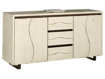 Sideboard weiß, pflegeleichte Oberfläche, FSC®-zertifiziert, heine home