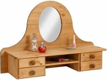 Home affaire Spiegelaufsatz , beige, B/H/T, »Melody«, mit Schubkästen, FSC®-zertifiziert
