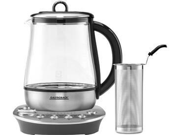 Wasserkocher, 42434 Design Tea Aroma Plus, 1,5 Liter, 1400 Watt silber, Gastroback