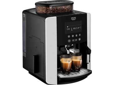 Kaffee-Vollautomat EA8178 Arabica Display Quattro Force, schwarz, Krups