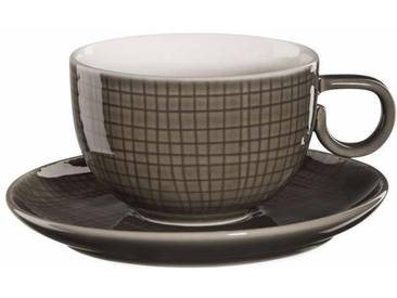 ASA Kaffeetasse mit Untere braun, »VOYAGE«, spülmaschinengeeignet, ASA SELECTION