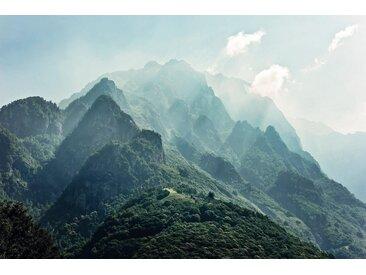 Komar Vlies Fototapete 300/200 cm »The summit«, grün, B/H, FSC®-zertifiziert