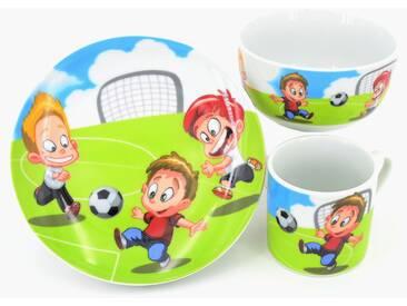 Kindergeschirr-Set Fußball , bunt, spülmaschinengeeignet, Retsch Arzberg