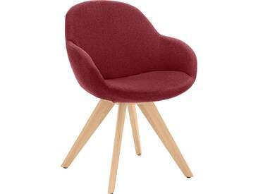 NIEHOFF SITZMÖBEL Schalen-Sessel , rot, ohne Drehfunktion, »Coppa«