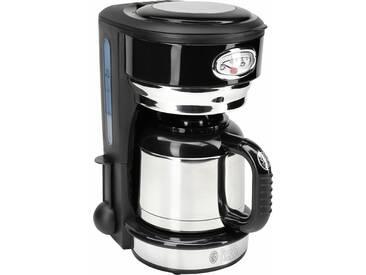 RUSSELL HOBBS Filterkaffeemaschine Retro Classic Noir 21711-56, schwarz