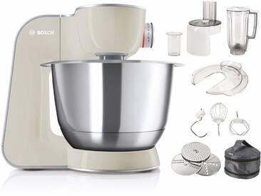 BOSCH Küchenmaschine CreationLine MUM58L20 silber