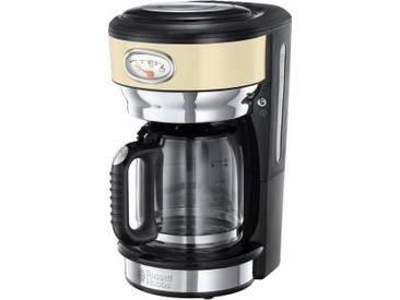 RUSSELL HOBBS Filterkaffeemaschine Retro Vintage Cream 21702-56, beige