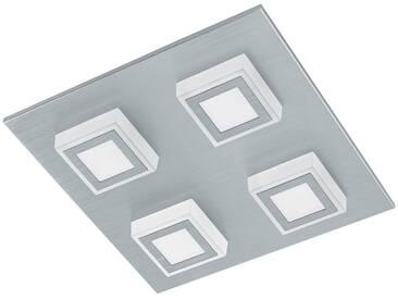 LED Deckenleuchte , silber, »MASIANO«, Energieeffizienzklasse: A+, EGLO