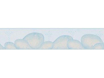 Bordüre , blau, 0,13x5 m, FSC-Zertifikat, »Lovely Friends«, , , FSC®-zertifiziert, living walls