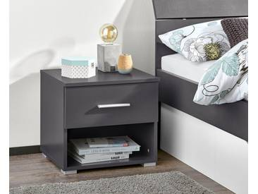 PACK´S Möbelwerke Stauraumbett , grau, »Flexx«, rauch