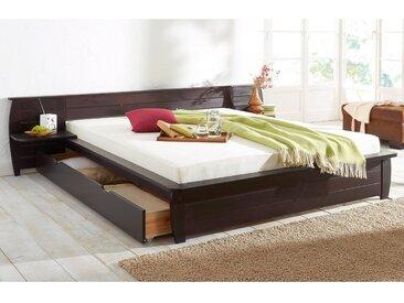 Home affaire Bettanlage , braun, 180/200 cm, Landhaus-Stil, »Acora«, , , FSC®-zertifiziert