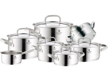 WMF Topfset »Gourmet Plus« silber, Ø 16, 16, 16, 20, 20, 20, 24cm, spülmaschinenfest