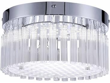 LED Deckenleuchte »LEA« silber, Ø25 cm, Energieeffizienzklasse: A, Leuchten Direkt