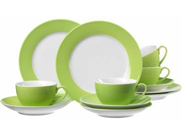 Kaffeeservice, grün, spülmaschinengeeignet, Ritzenhoff & Breker