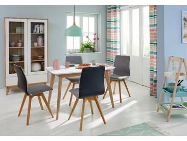 GMK Home & Living Esstisch », im modernen, skandinavischen Design, in verschiedenen Größen und Farben« weiß, eckig, 120/80/75, FSC®-zertifiziert, Guido Maria Kretschmer Home&Living