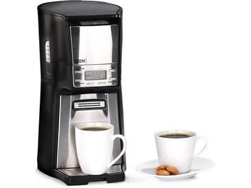 BEEM Kaffeebereiter Kaffeemaschine Robustica silber