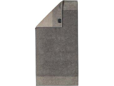 Sauna-Tuch »Two-Tone«, braun, 1x 80x200cm, Cawö