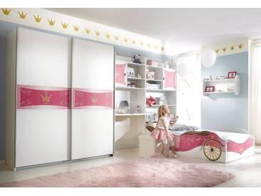 PACK´S Jugendzimmer mit Kleiderschrank , »Kate«, mit Schubkästen, rauch