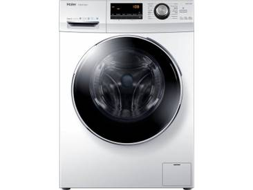 Waschmaschine HW80-B14636, Fassungsvermögen: 8 kg, weiß, Energieeffizienzklasse: A+++, Haier