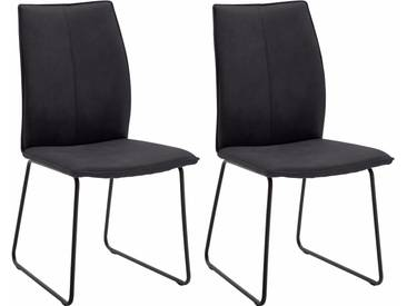 NIEHOFF SITZMÖBEL Design Stuhl , grau, »Capri«, strapazierfähig