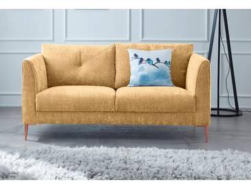 GMK Home & Living 2-Sitzer »Fock«, braun, 167cm, FSC®-zertifiziert, Guido Maria Kretschmer Home&Living