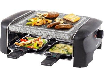 PRINCESS Raclette-Grill 4Personen-Stein-Grill - 162810, schwarz