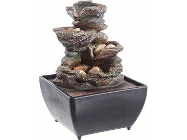 Zimmer-Brunnen »Stone«, braun, HOME AFFAIRE
