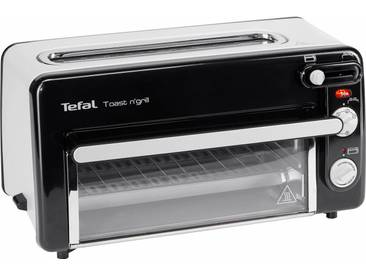 2-in-1-Toaster Toaster Toast n Grill und Mini-Ofen, schwarz, Tefal