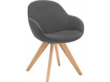 NIEHOFF SITZMÖBEL Schalen-Sessel , grau, ohne Drehfunktion, »Coppa«