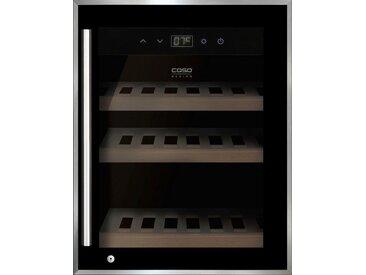 Weinkühlschrank WineSafe 12 black, schwarz, Energieeffizienzklasse: A, Caso