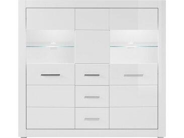 Highboard , weiß, FSC-Zertifikat, »BIANCO«, , , FSC®-zertifiziert,