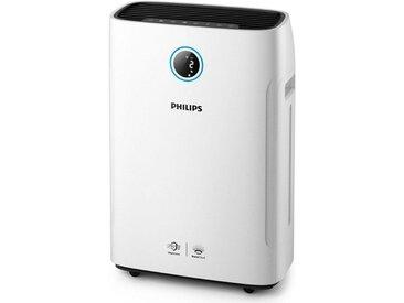 Philips Kombigerät Luftbefeuchter und -reiniger AC2729/10 2-in-1 Kombigerät, weiß