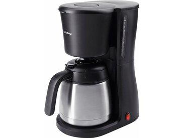 Filterkaffeemaschine mit Edelstahl-Thermokanne, schwarz, Privileg