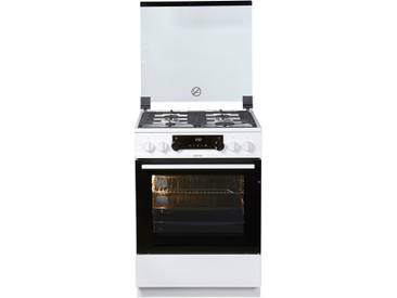GORENJE Kombi-Gas-Elektro-Standherd K 6351 WF, weiß, Energieeffizienzklasse: A